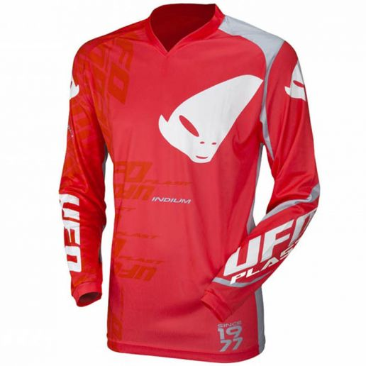UFO Indium Jersey Red джерси для мотокросса и эндуро