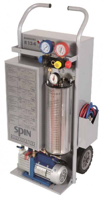 MONOCLIMA 134 BI-POWER - установка для заправки кондиционеров, ручное управление