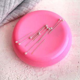 Игольница магнитная 10,5 см., розовая