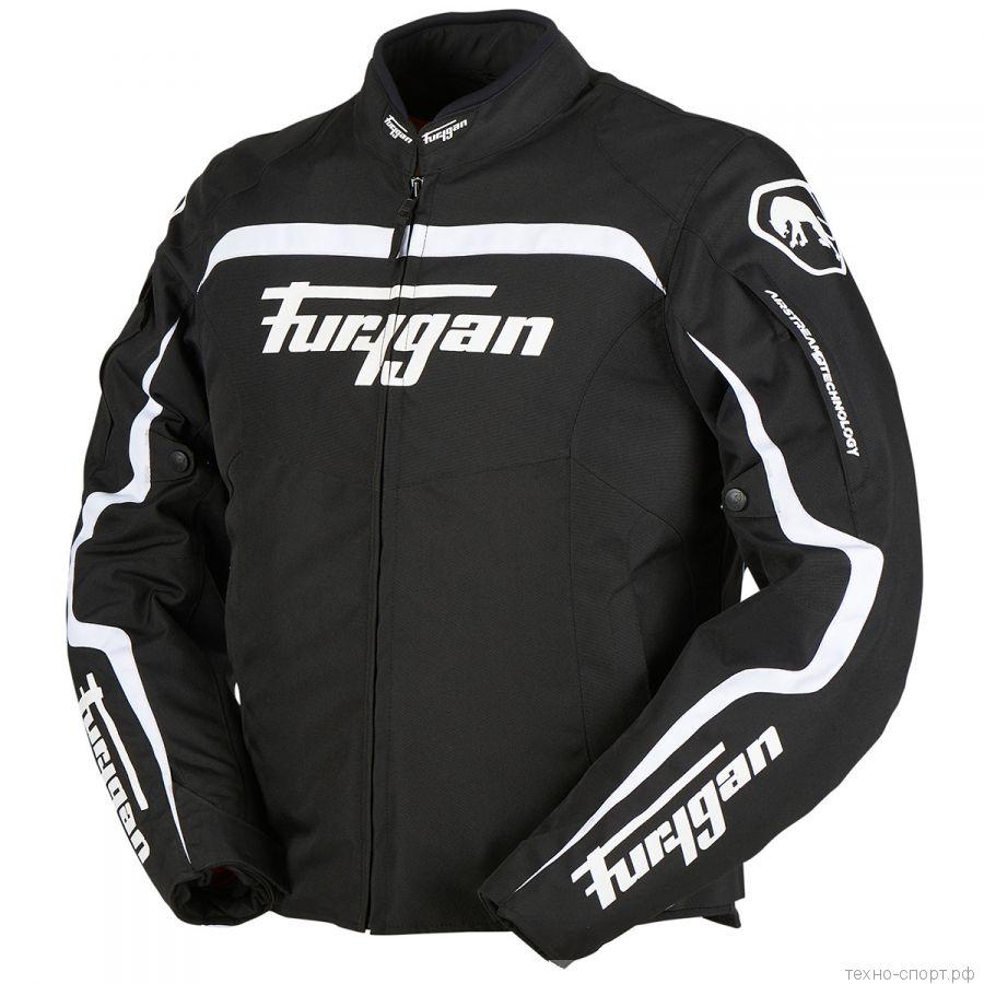 Мотокуртка FURYGAN DIABLO текстиль Black/White
