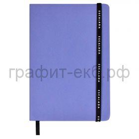 Книжка зап.Феникс+ А5 Шарголин фиолетовый на резинке 96л.кл.52491
