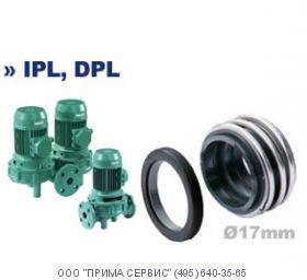 Торцевое уплотнение насоса Wilo VeroTwin-DPL / DPL32/100-0,55/2-X1