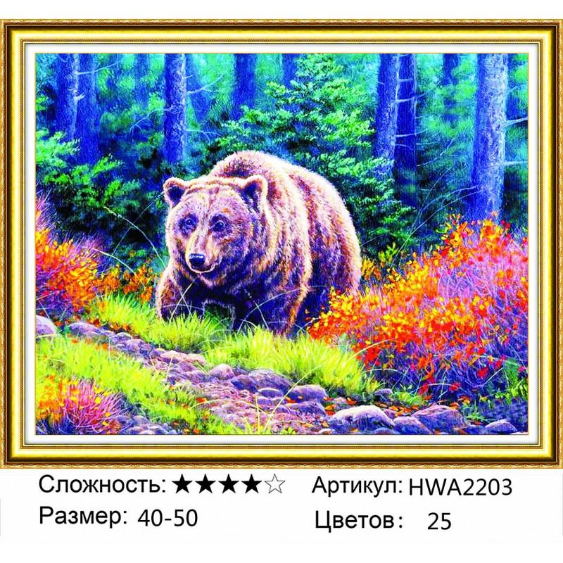 Алмазная мозаика на подрамнике HWA2203