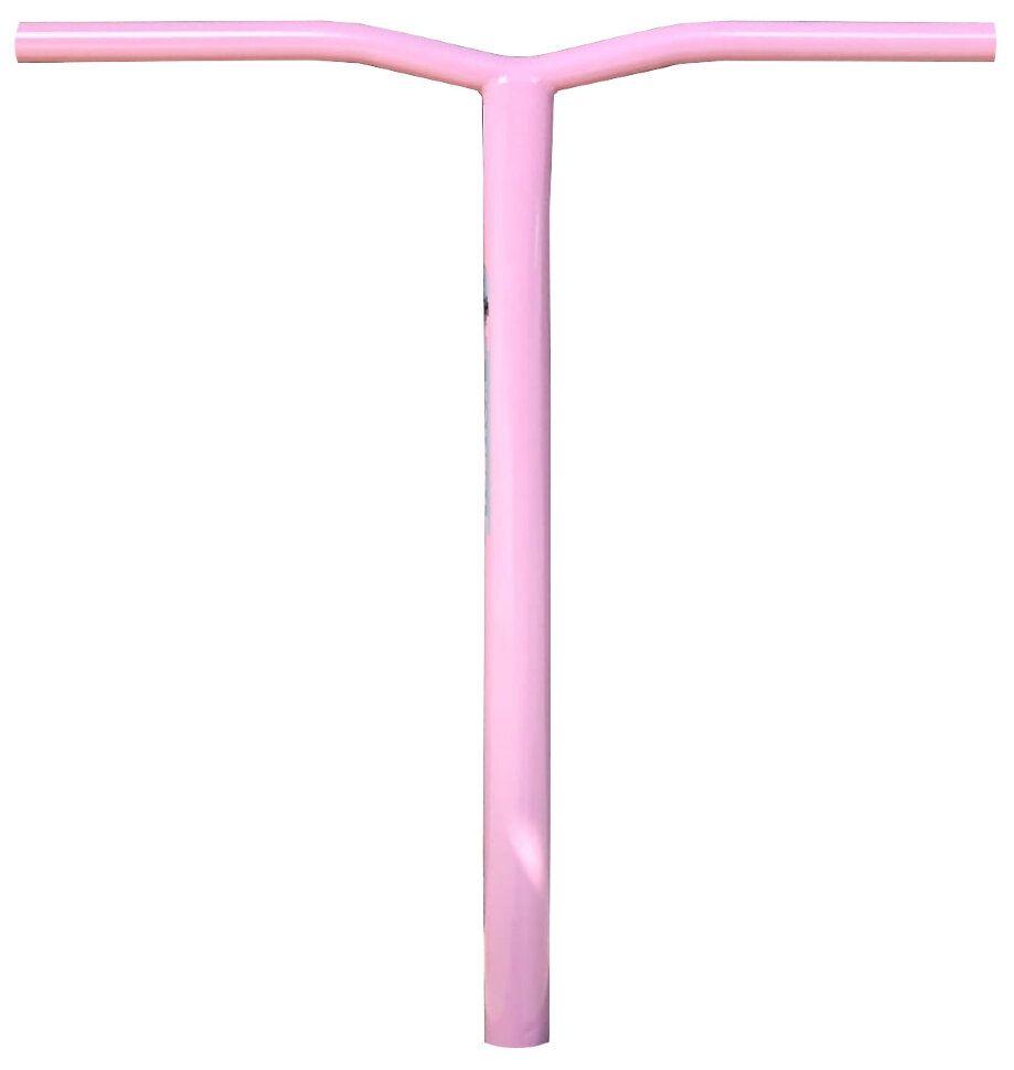 Руль Комета Wave Oversize 34,9 Фламинго Backsweep: 5° (розовый) (Backsweep 5°)