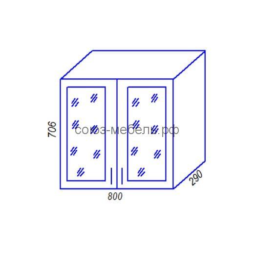 Шкаф BC800 Кухня Агава