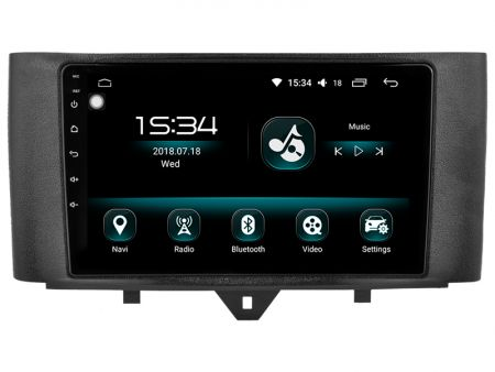 Witson Smart Fortwo 2010-2015 (W2-DHG2829)