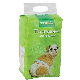 Triol Подгузники для собак M (12шт)