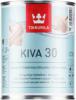Лак для Мебели Tikkurila Kiva 30 0.9л Универсальный, Полуматовый, Акрилатный, без Запаха для Внутренних Работ / Тиккурила Кива