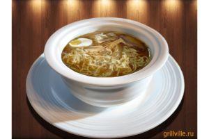 Суп Рамен мясной 250г