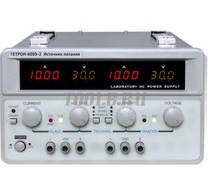 ТЕТРОН-6005-2 Линейный источник питания 2 канала 60 вольт 5 ампер