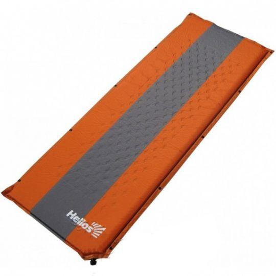 Коврик HELIOS самонадувающийся оранжевый HS-004 190х65х4