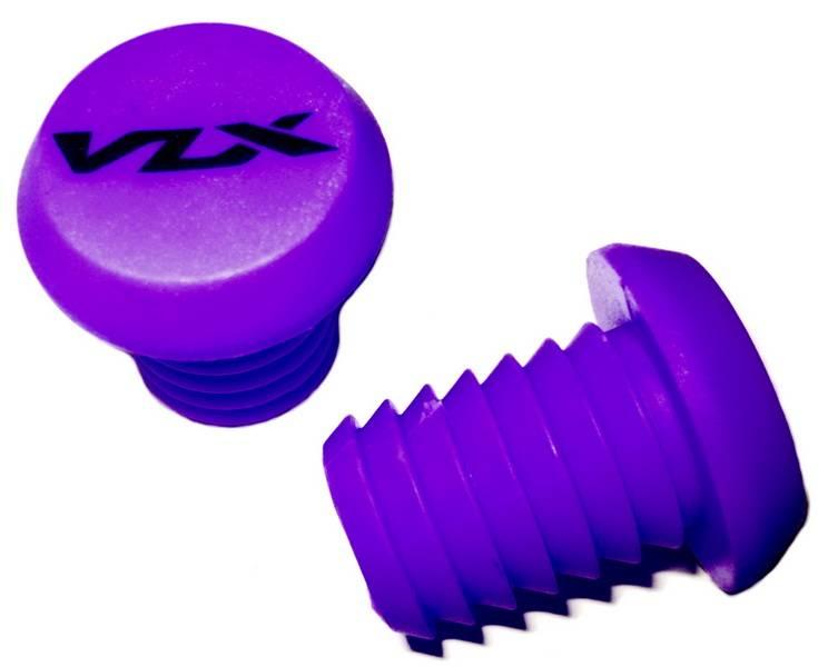 Баренды для руля самоката кратоновые VLX VLX-P1 фиолетовые