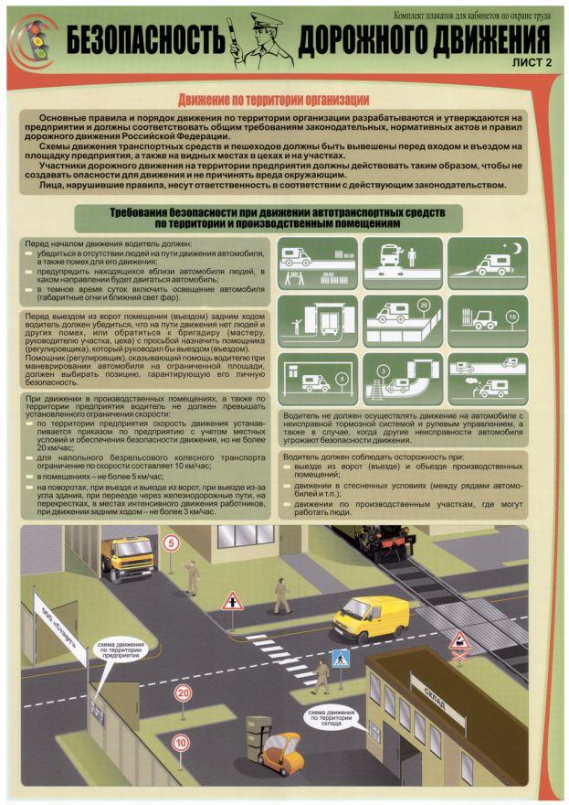 Информационный стенд Безопасность дорожного движения_2