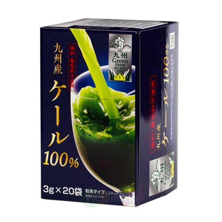 Kyushu Aojiru Аодзиру из капусты кале 100% GF Kale 100% aojiru
