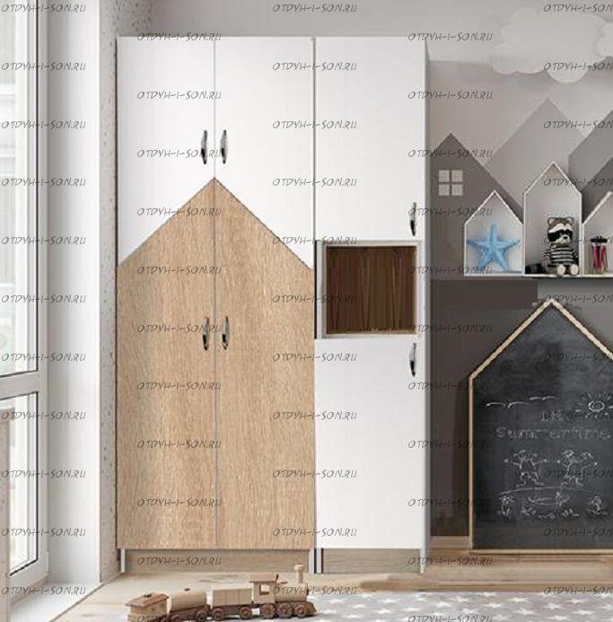 Шкаф трехдверный (102х52х200)