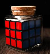 REFILLS FOR CUBE IN BOTTLE (только банка с кубиком)
