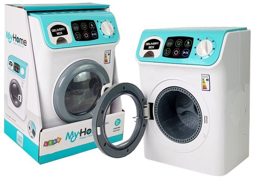 Автоматическая стиральная машина на батареях со звуком