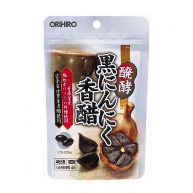 Orihiro Черный чеснок, 180 капс.