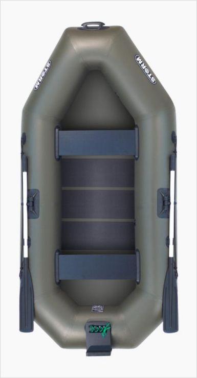 Лодка Aqua-Storm St280t-34 Тр ПС Оливковая