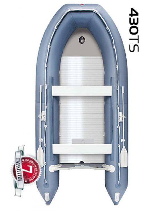 Лодка надувная YUKONA ПВХ 430 TS