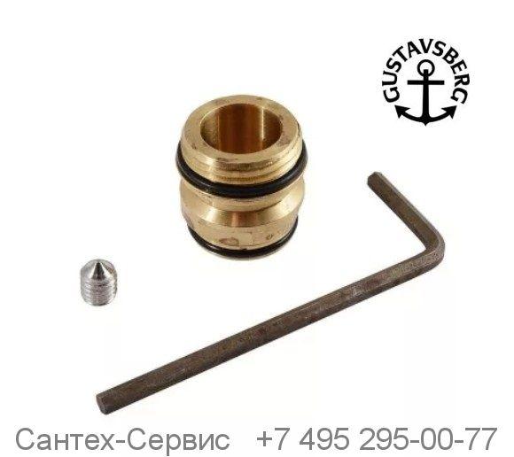 GB41636359 01 Латунный ниппель для ванно-душевого смесителя Gustavsberg