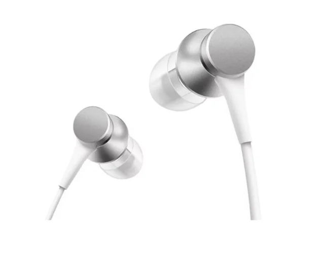 Наушники Xiaomi Mi In-Ear Headphones Basic (Серебро) (RU/EAC)
