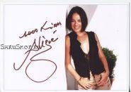 Автограф: Alizée / Ализе