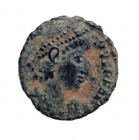 Римская монета Фоллис №4. ОРИГИНАЛ Римская Империя 1-2 век