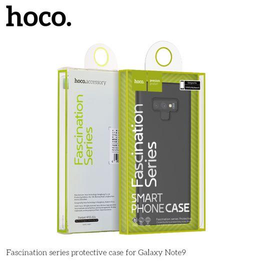 Защитный чехол HOCO Fascination series для Galaxy Note9, черный