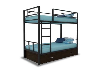 Кровать детская 2-х ярусная Альфа