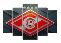 Модульная картина Спартак Чемпион