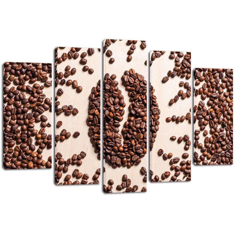 Модульная картина Кофе 10
