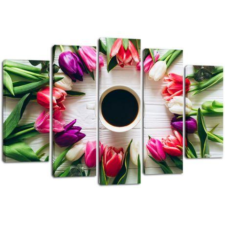 Модульная картина Кофе 9