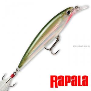 Воблер RapaIa X-Rap 100мм / 13 гр /Заглубление: 1,2 - 1,8 м /  цвет: XR10-OG