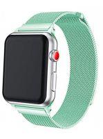 Ремешок миланская петля для часов Apple Watch 38/40mm Зеленый