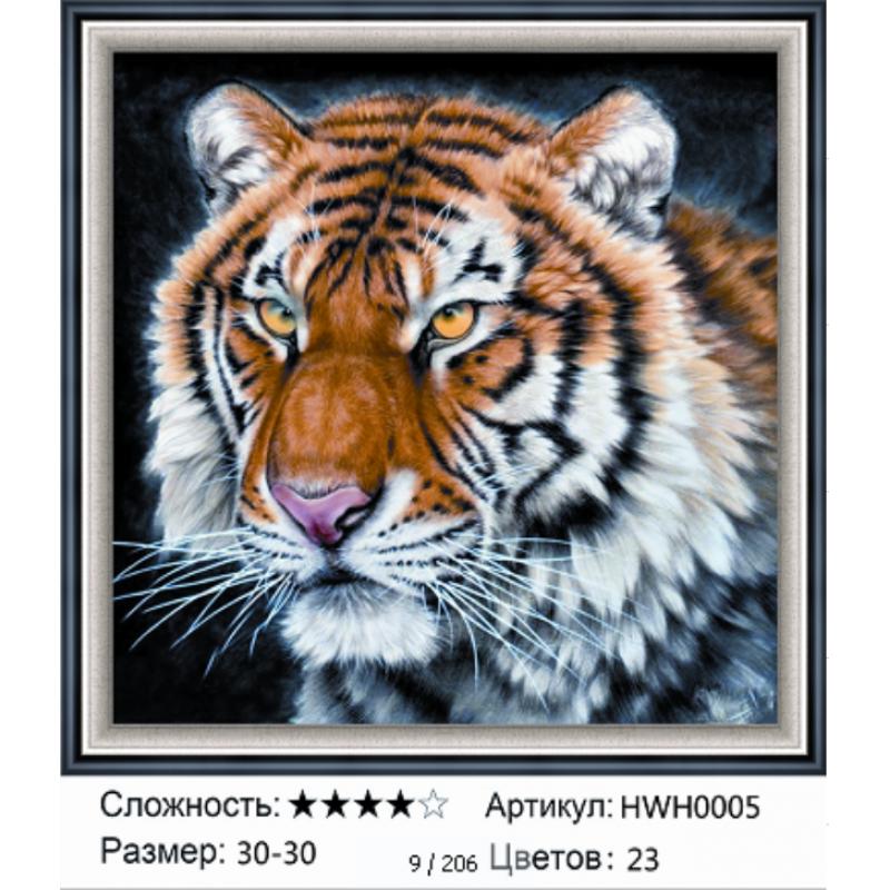 Алмазная мозаика на подрамнике HWH0005