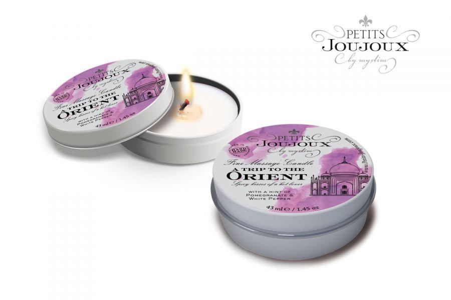 Petits Joujoux Массажная свеча ORIENT гранат и перец 33 гр.