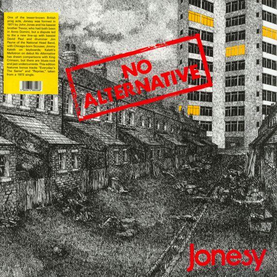 Jonesy - No Alternative 1972 (2020) LP