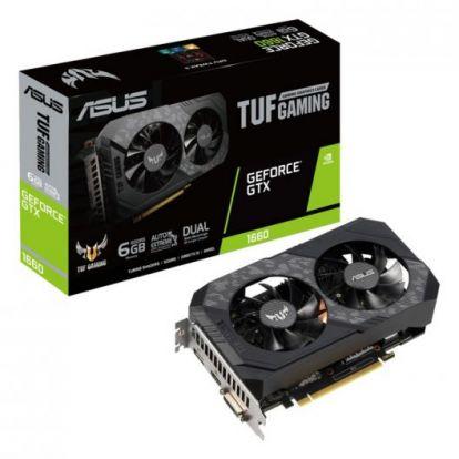 Видеокарта Asus GeForce GTX 1660 SUPER TUF Gaming