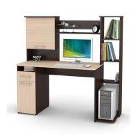 Компьютерный стол Мебель-Комплекс Лоредо СК-22 Венге/Дуб Молочный (2уп.)