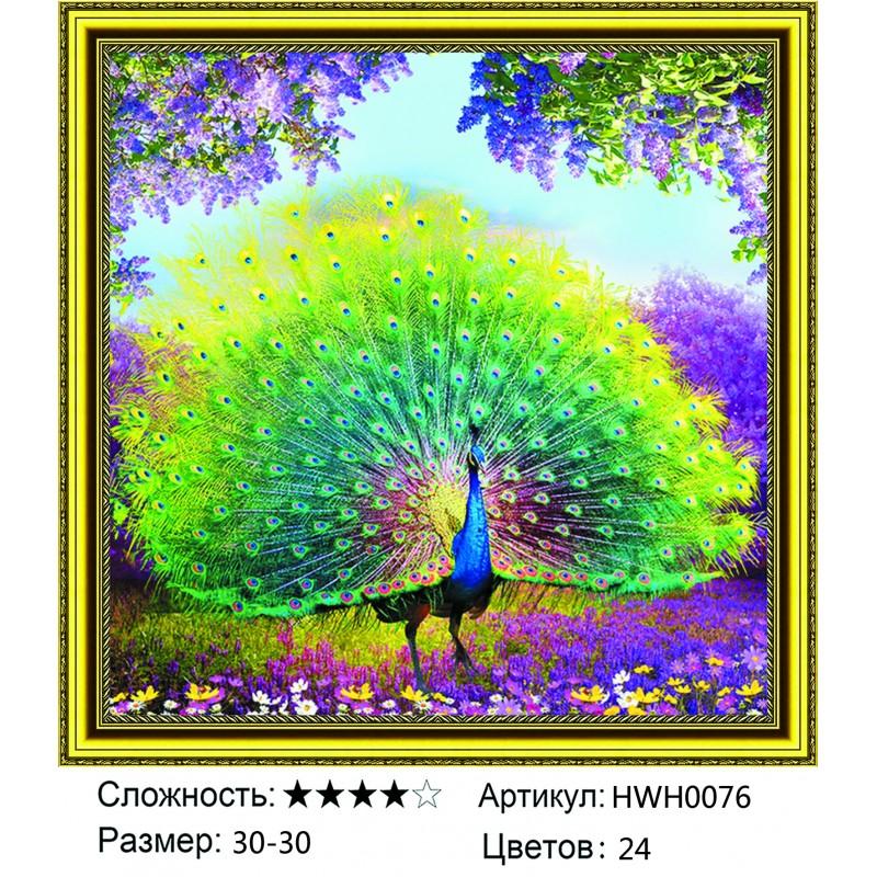 Алмазная мозаика на подрамнике HWH0076