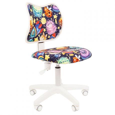 Кресло детское Chairman Kids 102, PL, ткань велюр, механизм постоянной под. спины, без подл