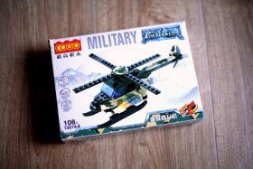 Конструктор военный Вертолет 3 в 1 Lego реплика 108 деталей
