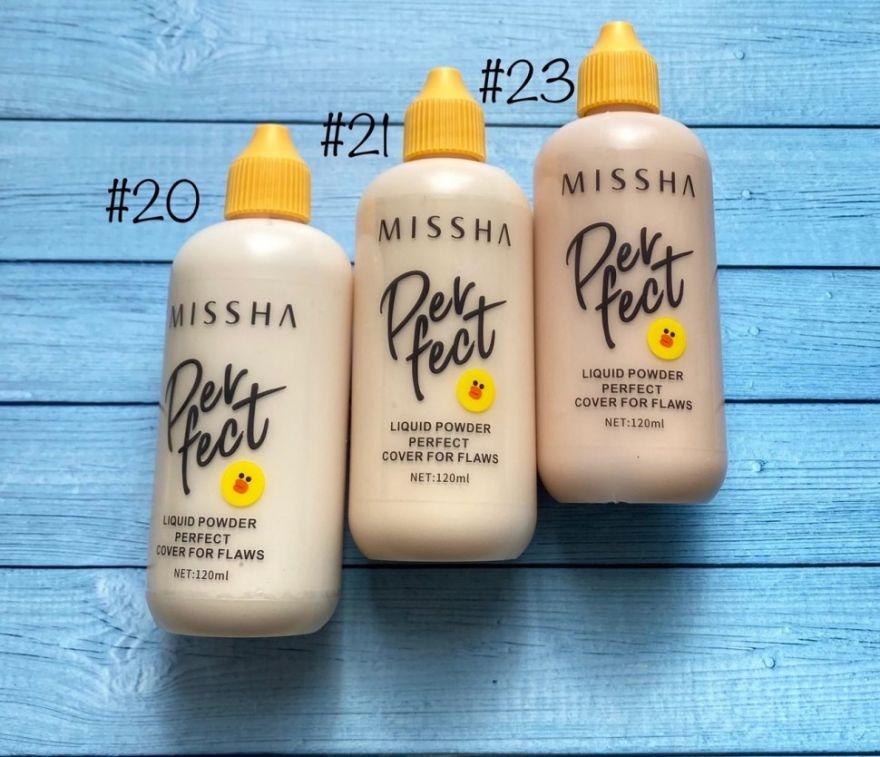 Увлажняющий тональный крем Missha Perfect №21 (we150) (Птичка)
