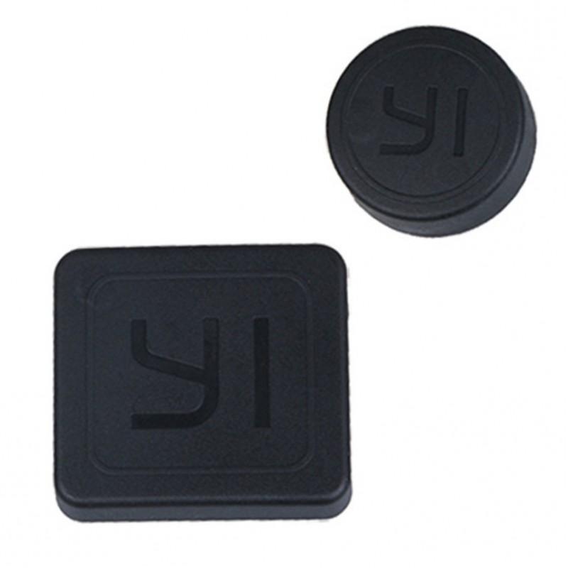 Защитные крышки на линзу камеры и аквабокс YI2 4K