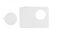 Мягкий силиконовый чехол для экшн-камеры Sj5000 (Белый)
