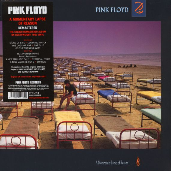 Pink Floyd - A Momentary Lapse Of Reason  1987/2017 LP