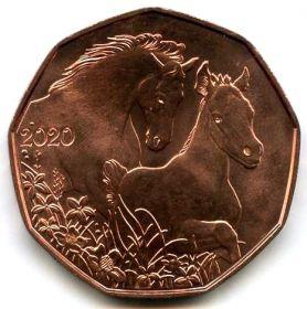 Австрия 5 евро 2020