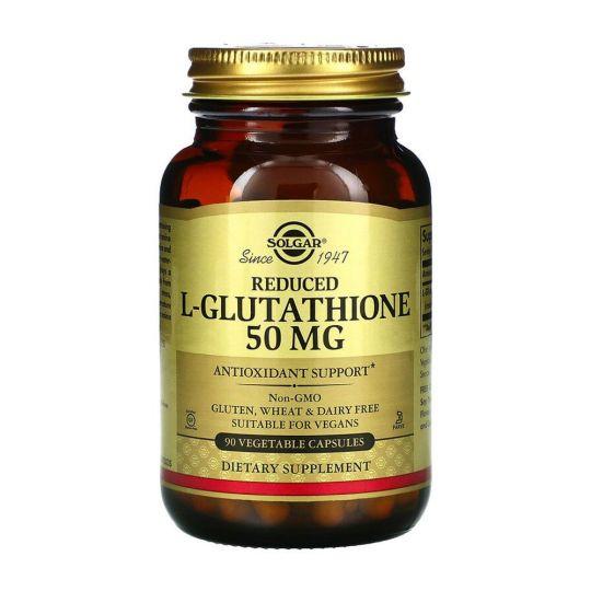 Глутатион (L-Glutathione) 50 мг, 90 капсул