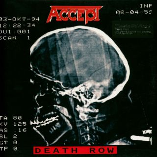 Accept - Death Row 2018 LP